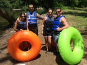 Couples Tubing Lehigh and Delaware Twin Rivers