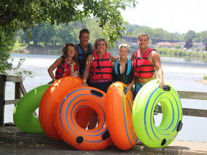 Family Tubing Lehigh and Delaware Twin Rivers