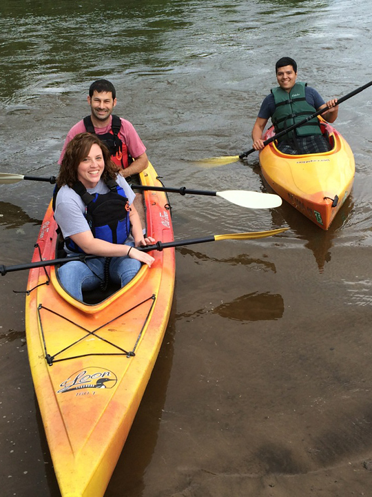 Friends Kayaking Lehigh and Delaware Twin Rivers