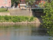 Easton, PA view along Twin Rivers Tubing