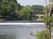Lehigh River Falls Easton, PA