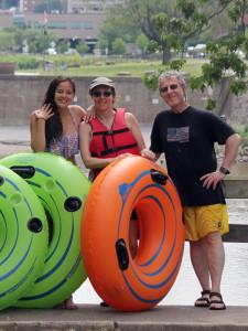 Family Tubing Lehigh Delaware Twin River