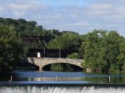 Lehigh Delaware River Falls Easton, PA