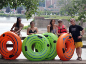 Family and Friends Tubing Lehigh and Delaware Twin Rivers