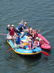 Rafting and Kayaking on the Delaware River