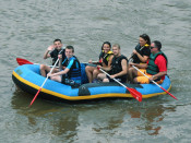 Family Rafting Lehigh and Delaware Twin Rivers