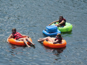 Friends Tubing Lehigh and Delaware Twin Rivers